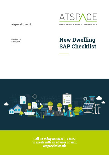ATSPACE New Dwelling SAP Checklist