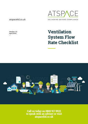 ATSPACE Ventilation Flow Rate Checklist