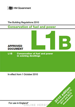 the building regulations part L1B