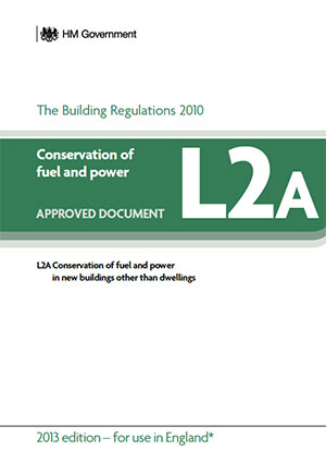 the building regulations part L2A