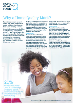 Why Home Quality Mark